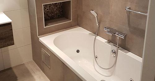 Badkamers Den Bosch : Badkamer met natuurtinten in den bosch den bosch