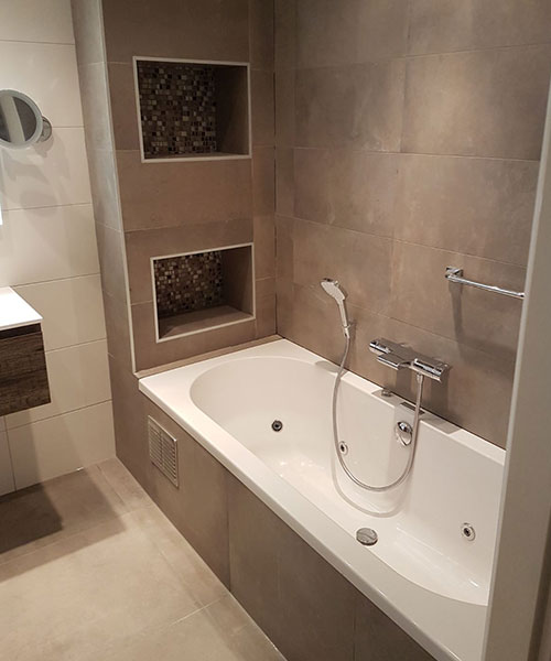 Badkamer met warme uitstraling in Den Bosch | Den Bosch