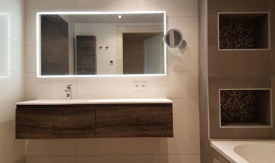 Badkamer met natuurtinten in Den Bosch | Den Bosch