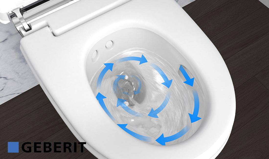 Geberit Hangend Toilet : Geberit aquaclean douchewc optimale hygiëne den bosch
