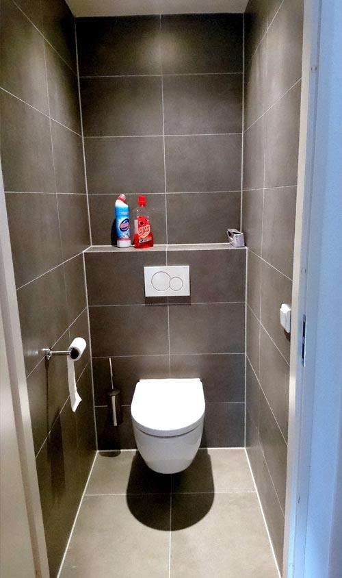 Designbadkamer en toiletruimte in Amersfoort | Den Bosch