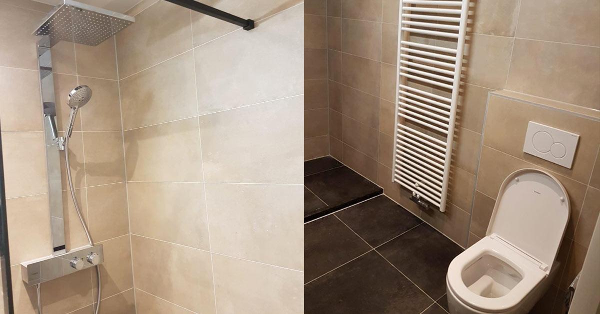 Moderne en stijlvolle badkamer in zeist den bosch
